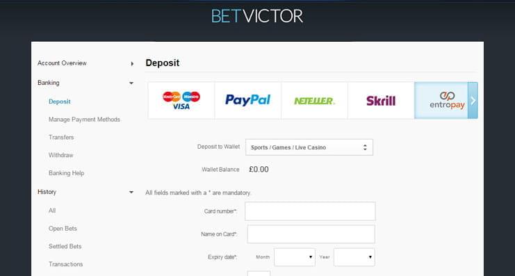 Betvictor Maximum Payout