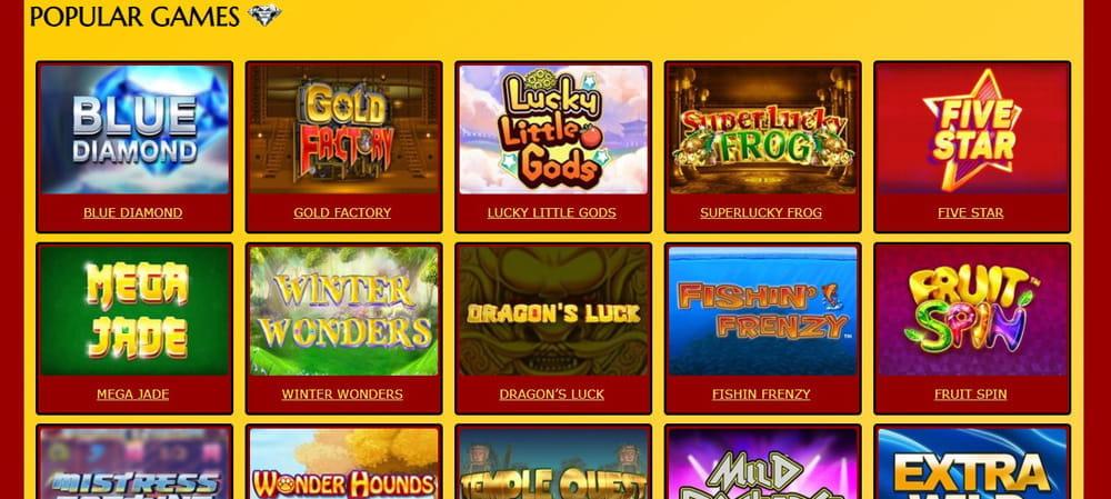 Spielfreie Slot Casino ohne Download