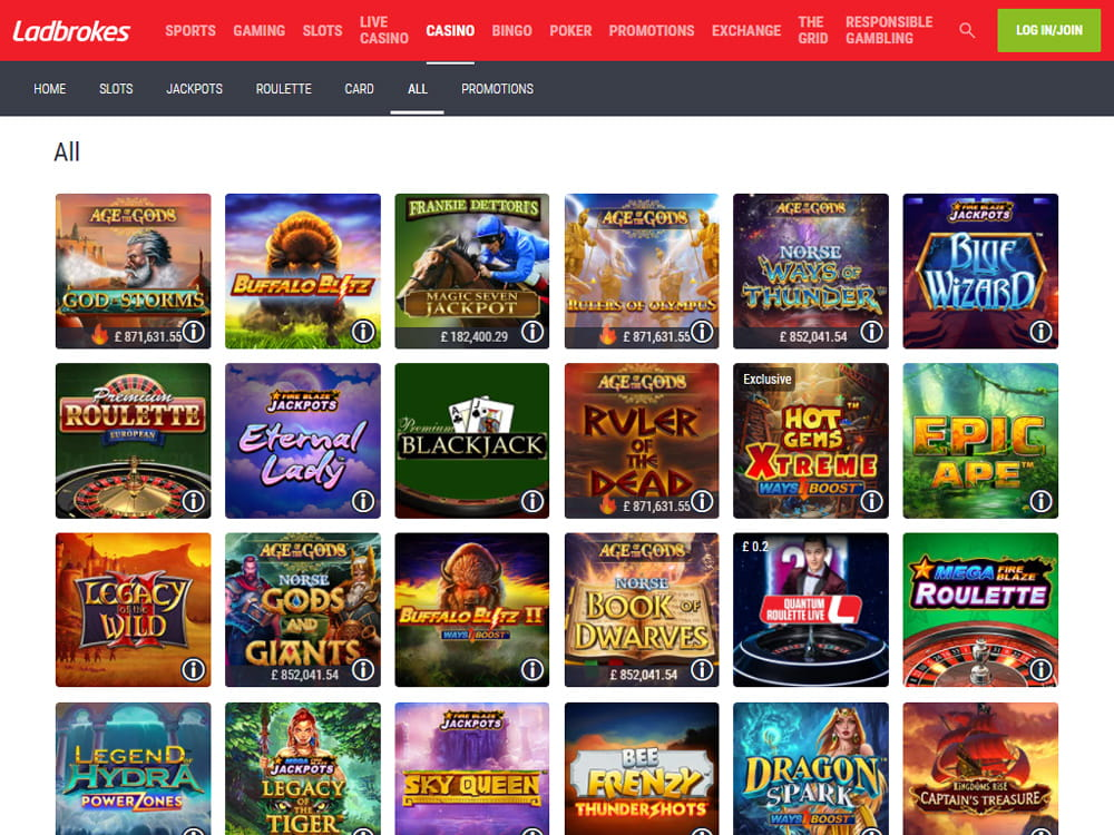 Ladbrokes Casino Mobile