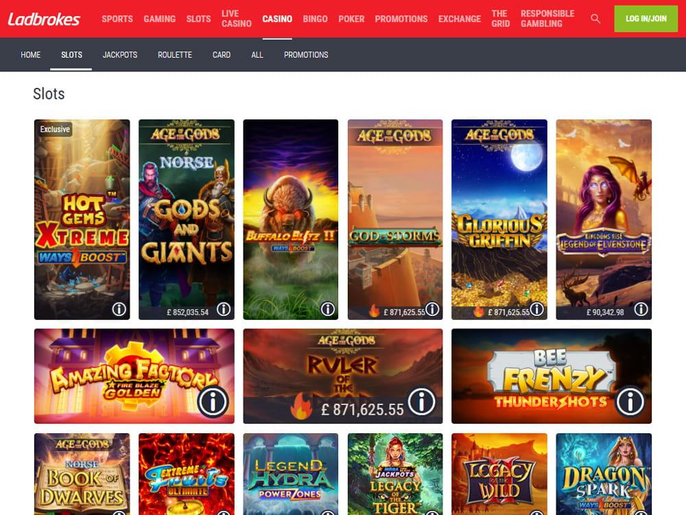 Mobile Ladbrokes Casino