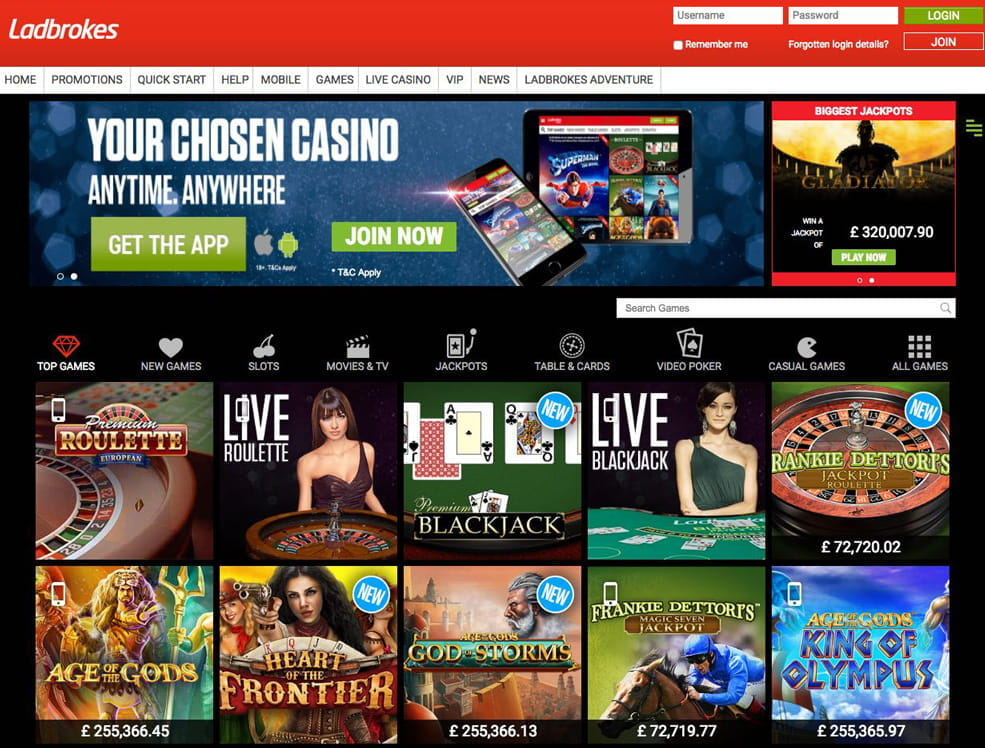 Casino ladbrokes games best casino play online