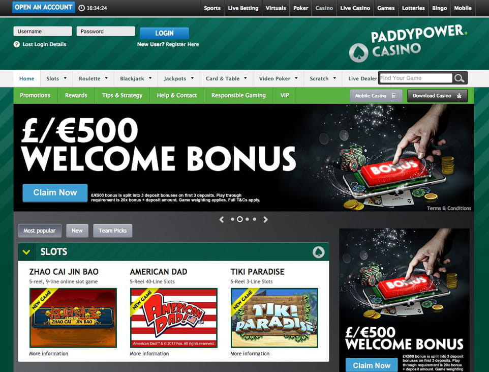 Paddy power live casino rigged casino online gambling legal