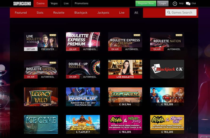 Super casino reviews