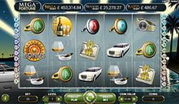 Mega Fortune Jackpot Slot von NetEnt