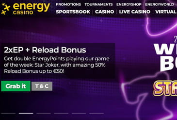 Energy Casino Scam Or Not Our Review 2021 From Scams Info