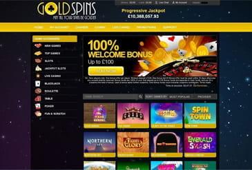 Gold Spins Casino