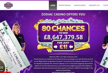 zodiac online casino reviews