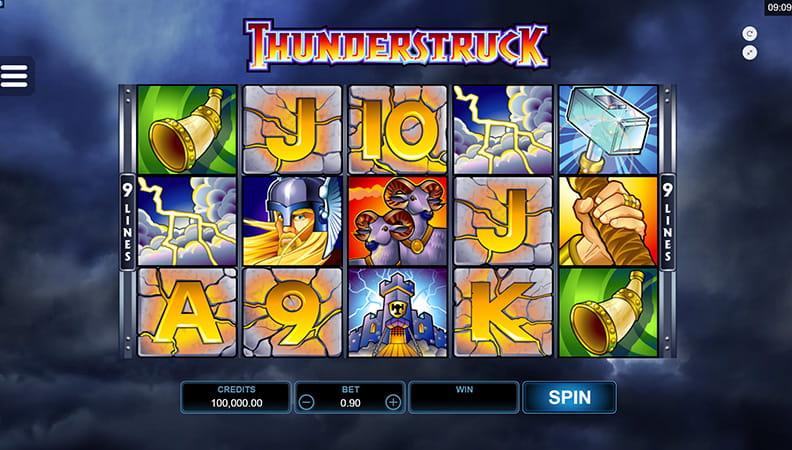thunderstruck 2 ladbrokes betting